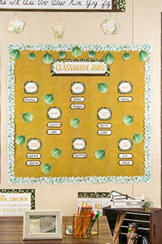 Teacher Created Resources Eucalyptus Classroom Jobs Mini Bulletin Board, TCR8453 Photo #4