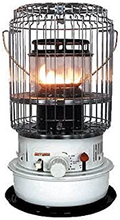 World Marketing of America KW-12 Kero-World Compact Convection Style Kerosene Wick Heater, 10500 BTU