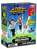 Stomp Rocket Ultra Rocket, 4 Rockets - Outdoor Rocket Toy Gift for Boys and Girls - Comes with Toy...