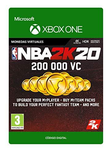 NBA 2K20: 200,000 VC | Xbox One - Código de descarga