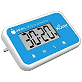TOUCH-FREE ACTIVATION: Hand-motion sensor to start and stop the timer GREAT FOR ALL AGES: Extra large ditigital display - easy to see for all ages SET IT FOR A RANGE OF ACTIVITIES: Countdown timer range: 1 second to 99 minutes, 59 seconds TWO OPTIONS...