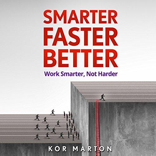 Smarter Faster Better audiobook cover art