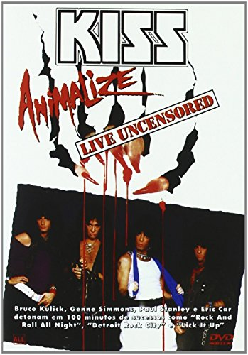 KISS: Animalize Live [DVD] [Import]