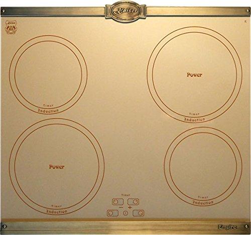Kaiser Empire KCT 6395 Plaque de cuisson à induction 60 cm /Plaques métalliques bronze / 4 zones de cuisson / Plaque de cuisson à induction / Plaque de cuisson encastrable / PowerBooster