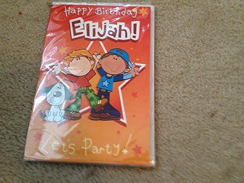 protección post-venta Happy Birthday Elijah - Singing Birthday Card by by by Oak Patch Gifts  ahorre 60% de descuento