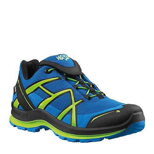 Haix Black Eagle Adventure 2.0 GTX Ws Low/Blue-Citrus. UK 5.5 / EU 39