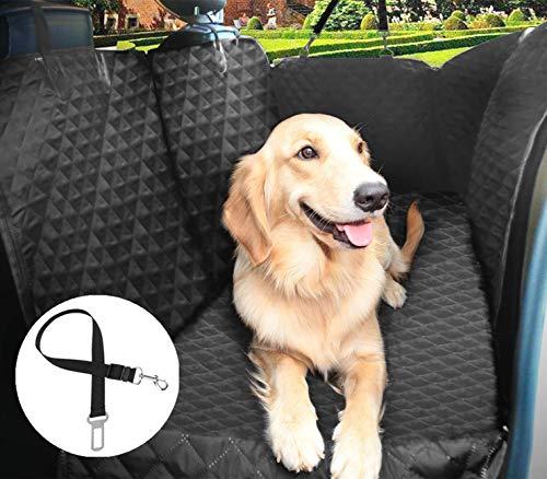 Pecute Funda de Asiento para Perros, Protector Asiento Coche Perro, Gruesa y Duradera para SUV, Camión, Transportar y Viaje