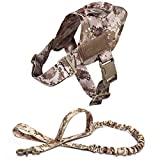 Arnes Perro Yuan Ou Arnés para Perros Caminar Nylon Ajustable Collar de Perro para Mascotas Chaleco Bungee Correa para Perros Arnés S DDCHarnessLeash