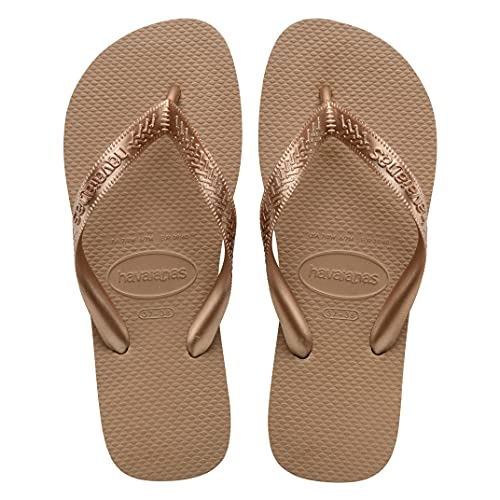 Chinelo Top, Havaianas, Adulto Unissex, Rose Gold, 35/36
