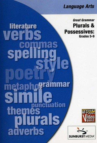 Great Grammar Series - Plurals And Possessives Video Quiz