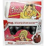Huevo sorpresa de Barbie de chocolate con leche y expositor sorpresa.