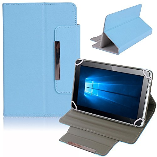 NAUC Tablet Tasche Hülle Schutzhülle Telekom Puls Hülle Schutz Cover Bag, Farben:Hellblau