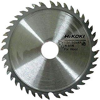 HiKOKI(ハイコーキ) 旧日立工機 チップソー 木材用 径125mm 24枚刃 コードレスチップソーカッター用 0032-6729