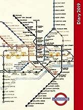 railway posters calendar 2019