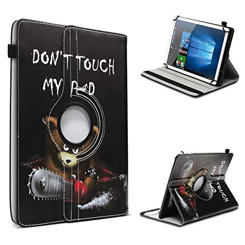 UC-Express Tablet Hülle kompatibel für Xoro PAD 7A2 Tasche Schutzhülle Hülle Schutz Cover 360° Drehbar, Farben:Motiv 9