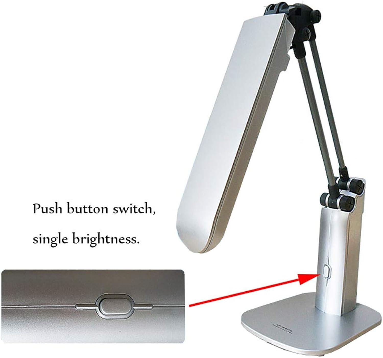 ZMBB 27W, Die Gebogene LED Eye-Caring-Tabelle   -Schreibtisch   -Lampe Für Das Lernen Das Lesen Das Bett Das Schlafzimmer, Tischplattensteckplatznachtlicht Faltet,A