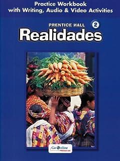[Prentice Hall] Prentice Hall Spanish:REALIDADES Practice WORKBOOK/Writing Level 2 2005C - Paperback