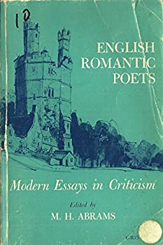 Paperback English Romantic Poets: Modern Essays in Criticism Book