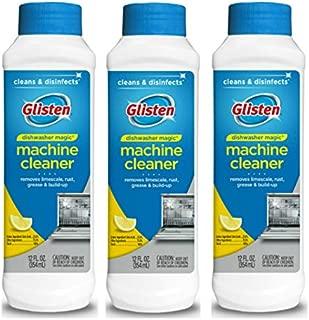 Glisten Dishwasher Magic Machine Cleaner and Disinfectant, 12 Fl. Oz (Pack of 3), 36
