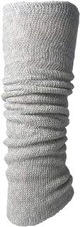 (カサネラボ)kasane lab. 冷えとり 内側シルク外側コットンの二重編みレッグウォーマー(レギュラー丈)【日本製】