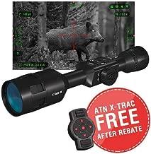 theOpticGuru ATN X-Sight-4k Pro Smart Day/Night Scope w/Full HD Video rec, Smooth Zoom, Bluetooth and Wi-Fi (Streaming, Gallery & Controls)