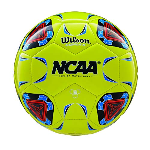 Wilson NCAA Copia II Soccer Ball, Optic Yellow - Size 4