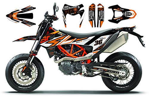 690 SMC R 2019 | Factory DEKOR Decals KIT Aufkleber Graphics