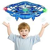 CPSYUB Mini Drone Toys for 4, 5, 6, 7, 8, 9, 10 Year Old Boys/Girls, Toys for 5 Year Old Boys, Hands Free Kids Drone Gifts for 3, 4, 5, 6, 7, 8, 9 Year Old Boys, Drone for Kids Toys Gifts (Blue)
