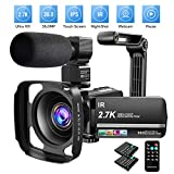Best HD Video Cameras - Video Camera Camcorder 2.7K Ultra HD YouTube Vlogging Review