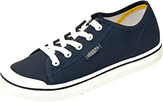 KEEN Women's Elsa Lite Casual Trainer Sneakers, Navy/White, 7.5