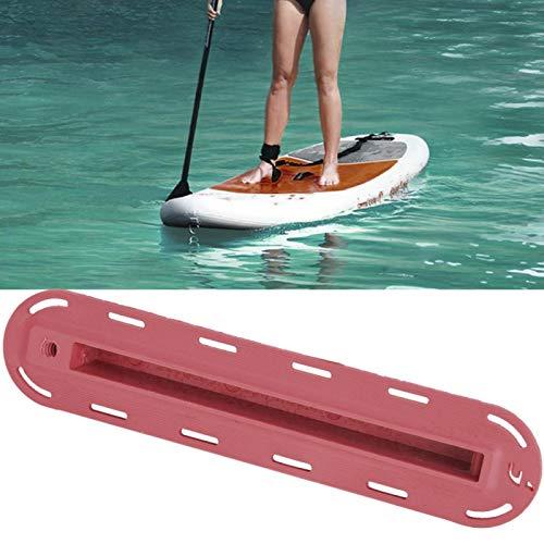 SALUTUYA Tapón de Aleta de plástico Ligero y práctico para Tabla de Surf Que Protege contra caídas, para Accesorio de Tabla de Surf(Red)