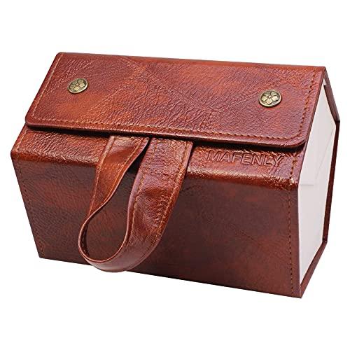Caja de almacenamiento de cinco gafas de sol, caja de presentación plegable...