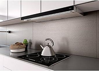 Berbel Einbauhaube Glassline schwarz BEH 90 GL 1005513