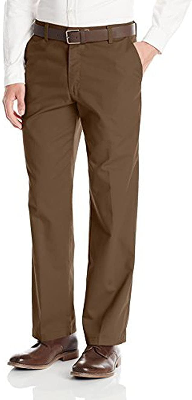 Selling Lee Men's Total Freedom Flat-Front Sacramento Mall Pant Straight-Fit
