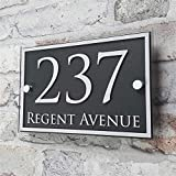 Customized Acrylic Door House Number Sign Apartment...