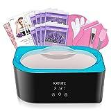 KARITE Paraffin Wax Machine for Hand and Feet, Fast Wax Meltdown Paraffin Bath, 4000ml Large Capacity Paraffin Wax Warmer with 2lb Paraffin Wax Refills & Thermal Mitts for SPA & Arthritis Treatment