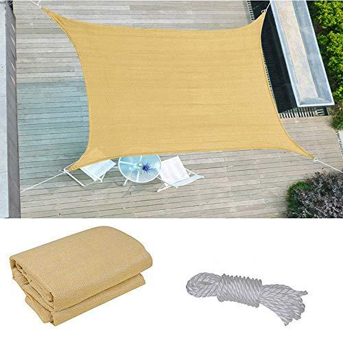shade net Velas De Sombra Rectangulares, Toldos,Malla De Sombreado Transpirable De HDPE para Acampar En Piscinas De Jardín, Protección UV