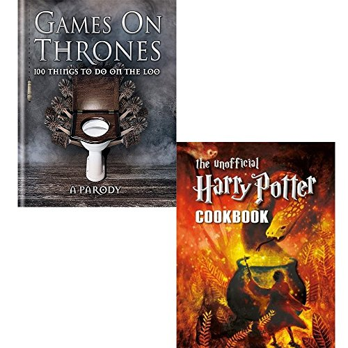 Price comparison product image Games on thrones [hardcover] and unofficial harry potter cookbook 2 books collection set
