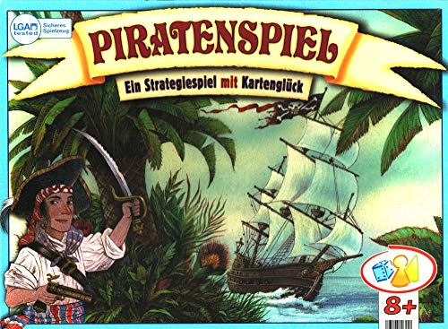 Bookmark Verlag Piratenspiel - Familienspiel