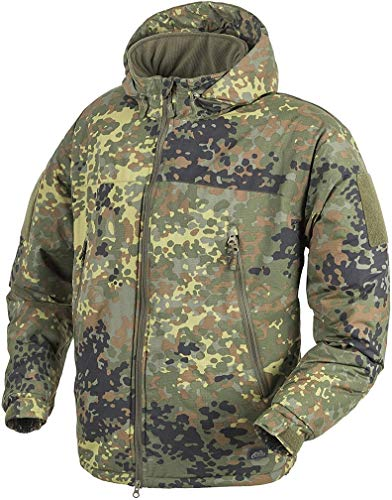 Helikon-Tex Level 7 Lightweight Winter Jacket - ClimaShield Apex Flecktarn S/Regular