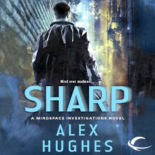Sharp audiobook cover art