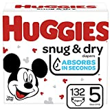 Huggies Little Movers, Baby Diapers, Size 5, 60 Ct