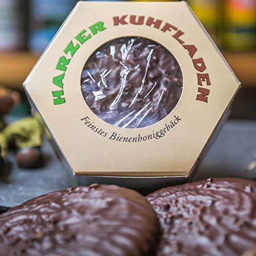 Harzer Kuhfladen | Lebkuchen mit Bienenhonig und Schokolade | leckeres Gebäck direkt aus dem Harz