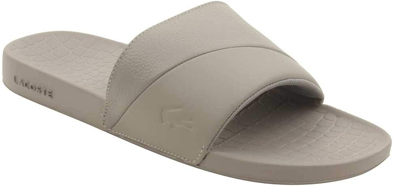 Lacoste Mens Fraisier 118 3 Leather Casual Slide Sandals