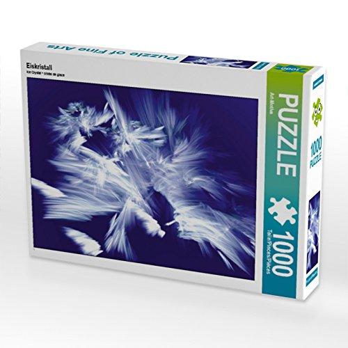 CALVENDO Puzzle Eiskristall 1000 Teile Lege-Größe 64 x 48 cm Foto-Puzzle Bild von Art-Motiva
