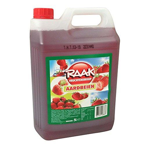 Raak Vruchtensiroop Aardbeien (5l Kanister Erdbeere)