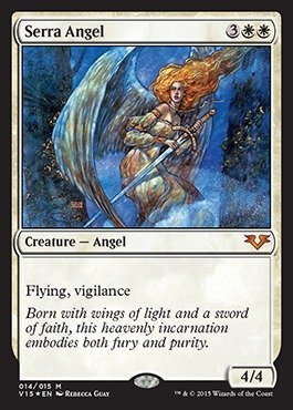 Magic: the Gathering - Serra Angel (014/015) - From the Vault: Angels - Foil by Magic: the Gathering