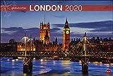 London Globetrotter. Wandkalender 2020. Monatskalendarium. Spiralbindung. Format 58 x 39 cm - Heye