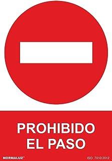 3mm Se/ñal/ética en Material Aluminio Dibond A3 29,7x42cm Se/ñal Prohibido Aparcar