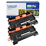 SuperInk 2 Pack Compatible Toner Cartridge Replacement for HP 64A CC364A Black use in Laserjet P4014dn P4014n P4015dn P4015n P4015tn P4015x P4515n P4515tn P4515x Printer